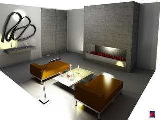 Eklektyczny salon od CARE MOBILIARIO MADRID,S.L. Eklektyczny