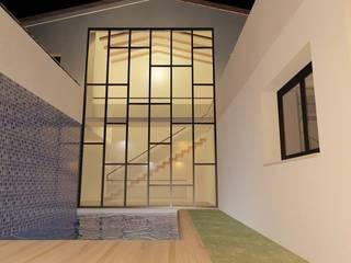 "VIVIENDA UNIFAMILIAR "" 1 BOB"" Piscinas de estilo moderno de ANA SÁNCHEZ ARQUITECTURA Moderno"