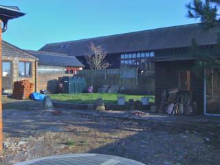 Barn Conversion Garden Before 1:   by Sylvan Studio