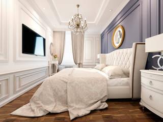Квартира. Москва. Спальня в классическом стиле от Elena Arsentyeva Классический