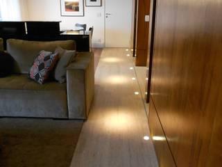 Apto Morumbi: Salas de estar  por Compondo Arquitetura,Moderno