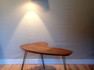 Une table basse fifties par uncerclerouge.fr Moderne