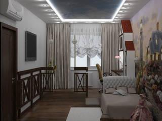 Детская в стиле фахверк Детские комната в эклектичном стиле от Лойе Ирина Эклектичный