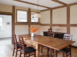Country style dining room by WOF-Planungsgemeinschaft Country