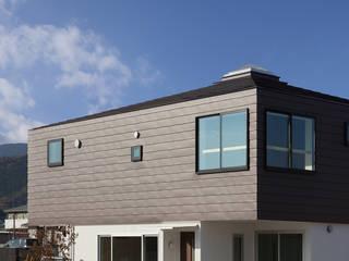 萱方の住宅 モダンな 家 の 山口修建築設計事務所 モダン