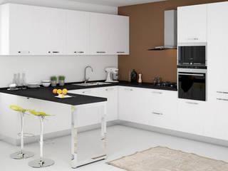 Design & Render – Sviluppo cucina su misura e accessori - Capo d'Orlando (ME): Cucina in stile  di Santoro Design Render