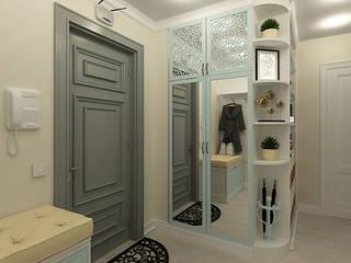 Бирюза и кружева Коридор, прихожая и лестница в классическом стиле от Алёна Демшинова Классический