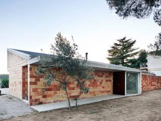 Barbacoa house Casas de estilo industrial de Pepe Gascón arquitectura Industrial