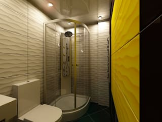 Офис: Ванные комнаты в . Автор – Ольга Зелинская