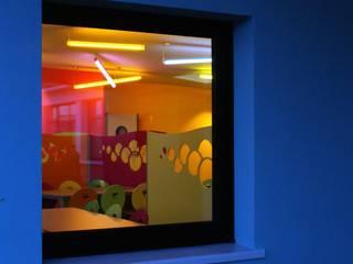 Restaurant scolaire à Condé sur Vire, Manche par Camélia Alex-Letenneur Architecture Design Paysage