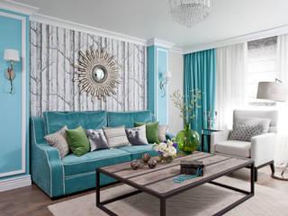 МАРИНА ПОКЛОНЦЕВА Scandinavian style living room