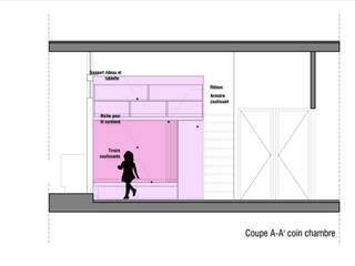 Appartement rue faubourg du temple, Paris 10e:  de style  par Ramsés Salazar Architecte