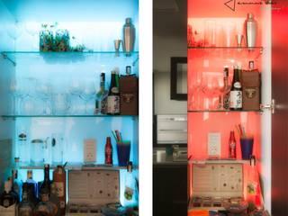 Minimalistyczna kuchnia od emmme studio Minimalistyczny