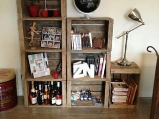 Bibliotheque espalier modulable:  de style  par Esprit loft recup