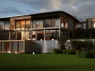 Casas de estilo moderno de Latis Mimarlık ve İnşaat Moderno