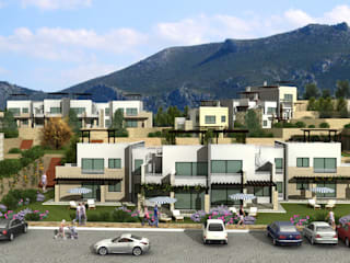 Cyprus Summer Houses Latis Mimarlık ve İnşaat Modern Evler