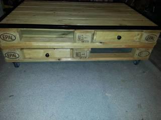 table basse palette:  de style  par Esprit loft recup