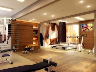 Biehl Arquitetura 健身房
