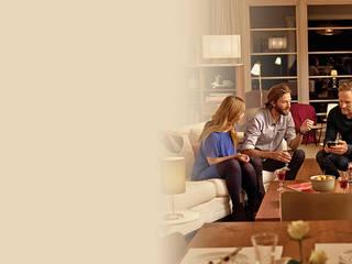 Smart Home - Sicherheit - Energie: moderne Esszimmer von Telekom Deutschland GmbH