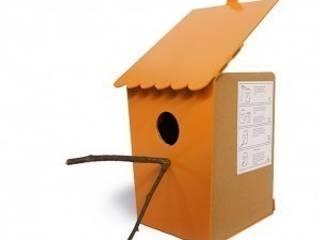 Zelf Vouw vogelhuis:   door riesgeurts