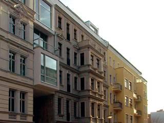 Choriner Straße 20/21: minimalistische Häuser von HAB - Hoyer Architekten Berlin