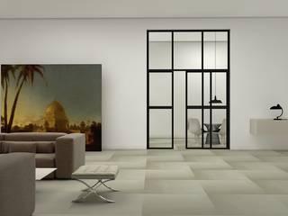 ARKIT: PVC HETEROGÉNEO EN GRAN FORMATO. Hoteles de estilo moderno de Novadecor Moderno