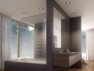 Donau 14:  Badezimmer von Andreas Beier Architektenteam