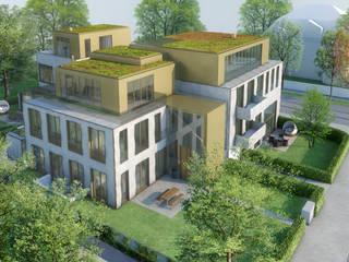 Donau 14:  Häuser von Andreas Beier Architektenteam