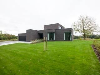 Maisons modernes par hasa architecten bvba Moderne