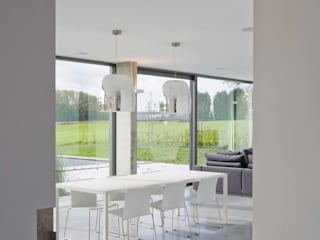 Modern dining room by hasa architecten bvba Modern