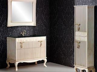 Mueble de baño Ballet de 100 hueso:  de estilo  de Bañoweb