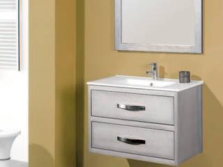 Mueble de baño Antequera en plata:  de estilo  de Bañoweb
