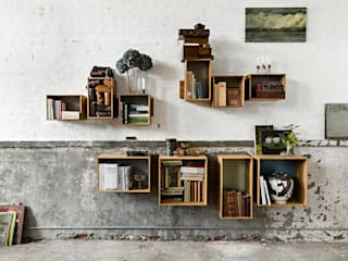 Livings de estilo escandinavo por We Do Wood