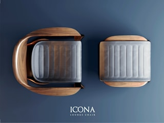 CVKDesign – icona lounge chair:  tarz
