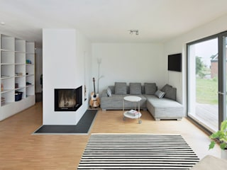 gondesen architekt Scandinavian style living room