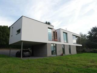 Malonne I Habitation privée très basse énergie ; K 34 - Ew 39 Maisons modernes par SECHEHAYE Architecture et Design Moderne