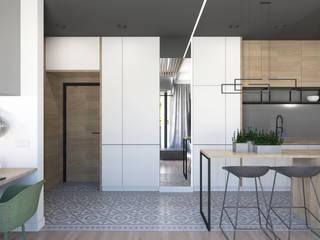 54 m2: styl , w kategorii Korytarz, przedpokój zaprojektowany przez ADV Design