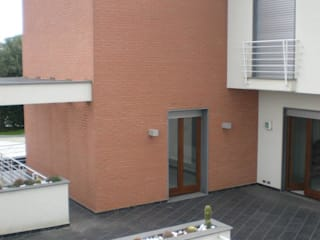 hause1 provincia di Caserta Case moderne di studiozero Moderno