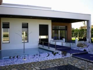 hause3 provincia di Caserta Case moderne di studiozero Moderno
