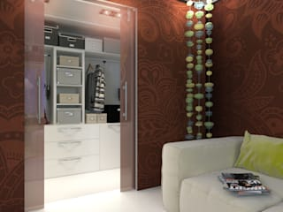 Dressing room by Your royal design, Minimalist