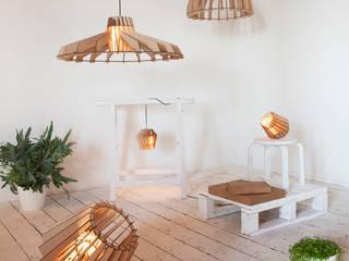 Alle Laser-cut Lamps in één beeld.:   door Van Tjalle en Jasper