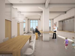 RTW Architekten Ruang Makan Klasik