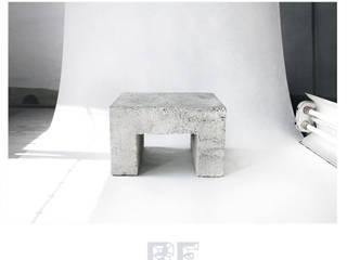 Stolik kawowy z litego betonu od ReNowe Art Industrialny