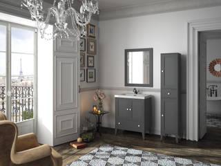 Mueble Boheme Gris:  de estilo  de Cuartodebaño.com