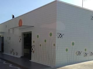 locale commerciale provincia di Caserta Negozi & Locali commerciali moderni di studiozero Moderno