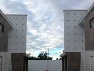 hause10 provincia di Caserta Case moderne di studiozero Moderno