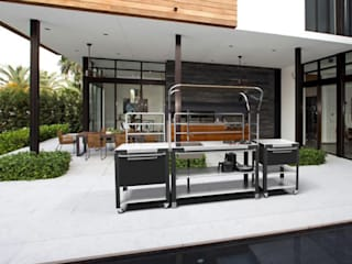 "Schiffini ""Satellite"" Outdoor Kitchen bởi Riccardo Randi"