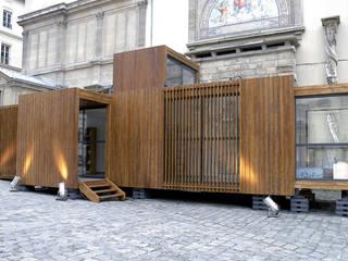 drophouse Maisons modernes par D3 architectes Moderne