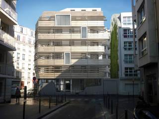 logements collectifs SIEMP Maisons modernes par D3 architectes Moderne