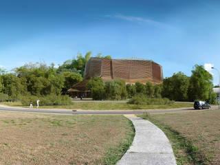 maison des cultures et des mémoires de guyane Musées modernes par D3 architectes Moderne